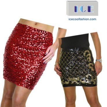 Ladies Sequin Skirts